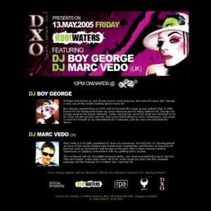 Boy George DJ EDM Web Design