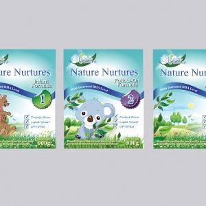 Baby Milk Powder Packaging Graphic Designer