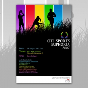 Citibank Event Graphic Designer